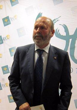 El presidente de Caja Rural de Salamanca .