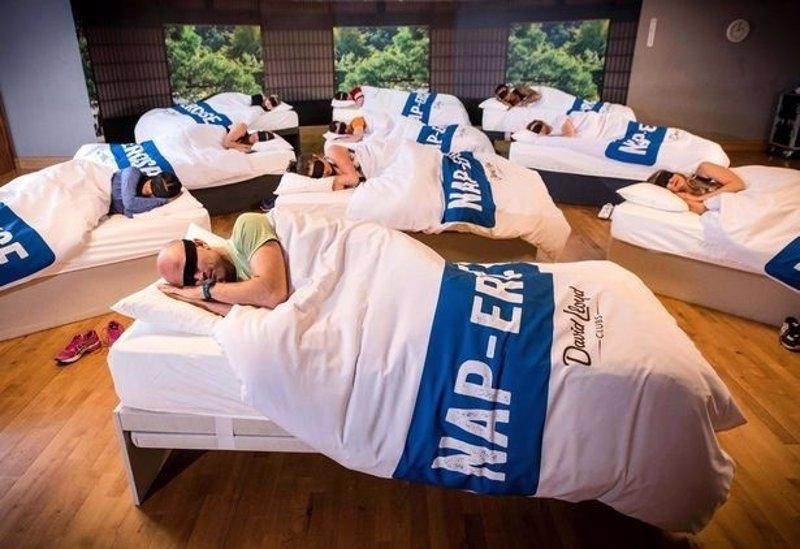 Resultado de imagen para Gimnasio crear clase para dormir la siesta