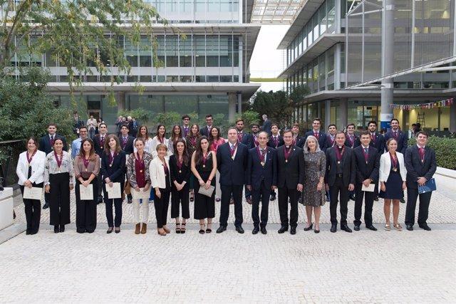 Distinguidos por Alpha Sigma Nu en la Universidad Loyola Andalucía
