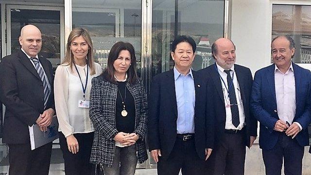 Una delegación china visita la Autoridad Portuaria de Almería