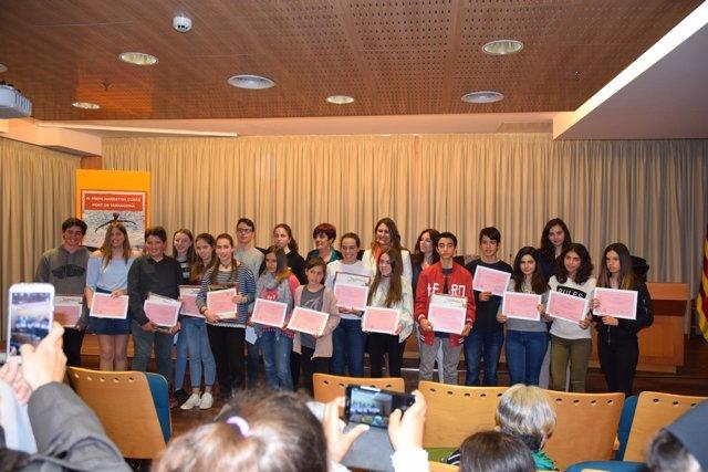Premiados con el IV Premio de Narrativa Corta del Puerto de Tarragona