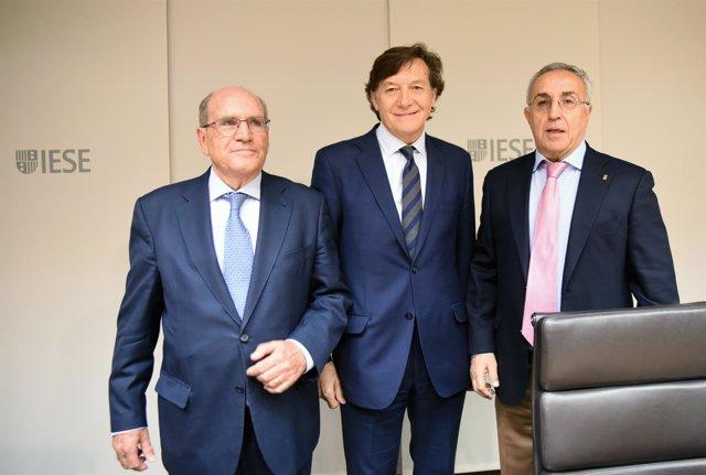 José Ramón Lete y Alejandro Blanco en el IESE