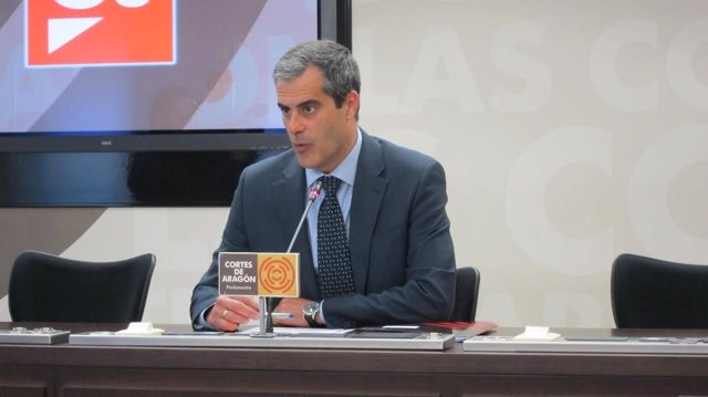 El diputado de Cs, Javier Martínez