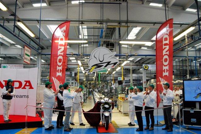 Un millón de unidades del SH fabricadas en Atessa