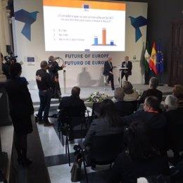 Diálogo ciudadano con el comisario europeo de Salud