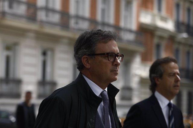 Jordi Pujol Ferrusola llega a la Audiencia Nacional para declarar