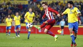 El Atlético, a la defensa del tercer puesto en Las Palmas