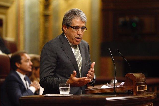 Francesc Homs en el debate de investidura de Rajoy