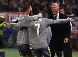 Zidane recupera a Cristiano y Ramos para el partido contra el Valencia