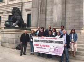 PP, PSOE y Cs impiden que el Congreso pueda debatir si crea una comisión de investigación sobre Angrois