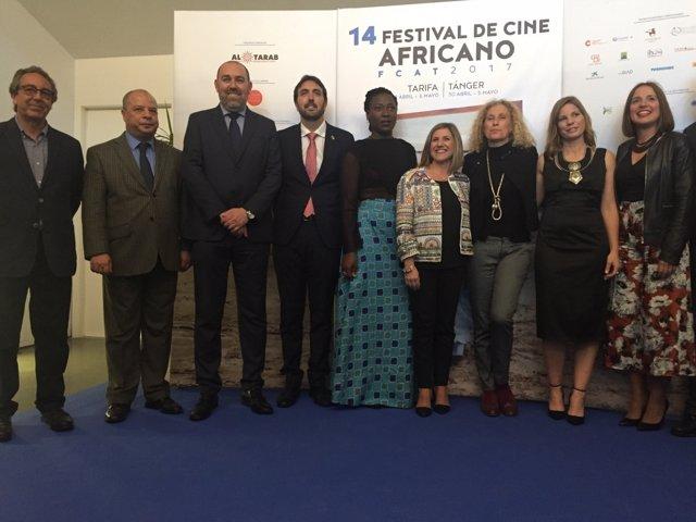 Irene García en el Festival de Cine Africano de Tarifa