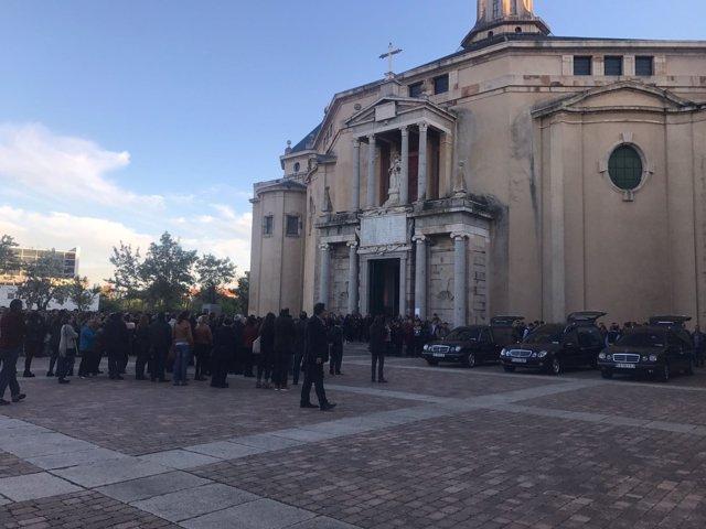 Funeral por los tres montañeros zamoranos fallecidos en Picos de Europa