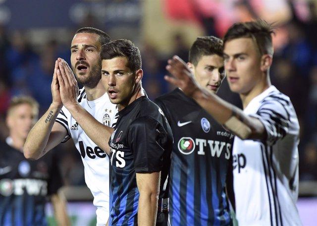 La Juventus empata con el Atalanta en la Serie A