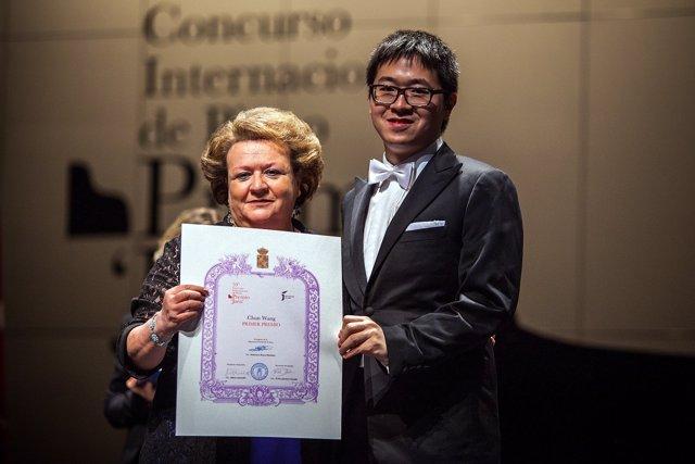 El pianista chino Chun Wang, ganador del Premio Internacional Jaén de Piano