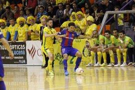 El Barça deja en bandeja la segunda plaza a ElPozo y Cartagena mantiene la categoría