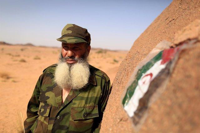 Miliciano del Frente Polisario