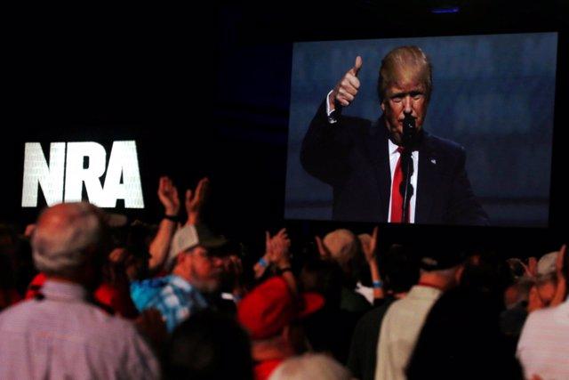 Donald Trump, discurso en el foro de la Asociación Nacional del Rifle