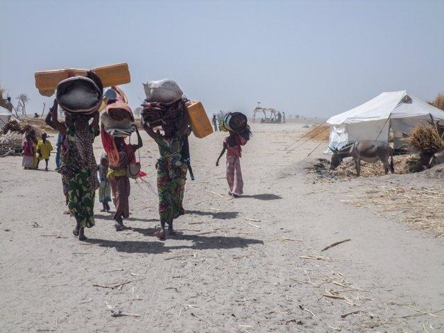 Desplazados internos en Rann (Nigeria)