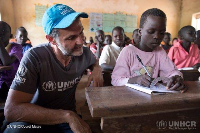 Khaled Hosseini, embajador de ACNUR