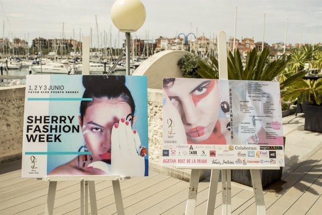 Cartel de Sherry Fashion Week