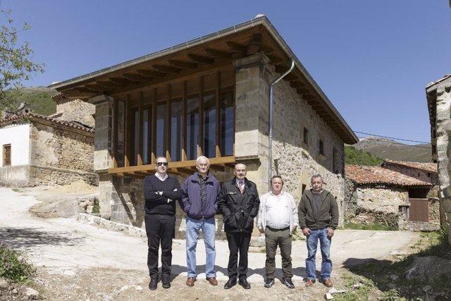 Mazón, en la inauguración en Tudanca