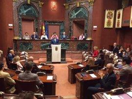 """López Miras (PP): """"Trabajaré para que el millón y medio de murcianos sea el protagonista"""""""