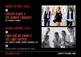 Las terrazas de Porto Pi ofrecen conciertos de swing este fin de semana con motivo del Día del Internacional del Jazz