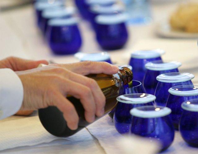 Cata de aceite de oliva virgen extra premio Diputación de Málaga