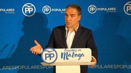 "PP-A: Andalucía ""no podrá levantar cabeza"" si Díaz ""sigue de gira"": ""No está ni diez minutos"" en la Junta"