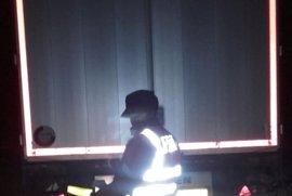 Inmovilizado un camión con destino Logroño en la AP68 tras ofrecer positivo en drogas sus dos conductores