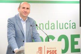 """PSOE-A pregunta a Podemos y PP-A si van a """"consumar su pinza"""" y presentar una moción de censura en Andalucía"""