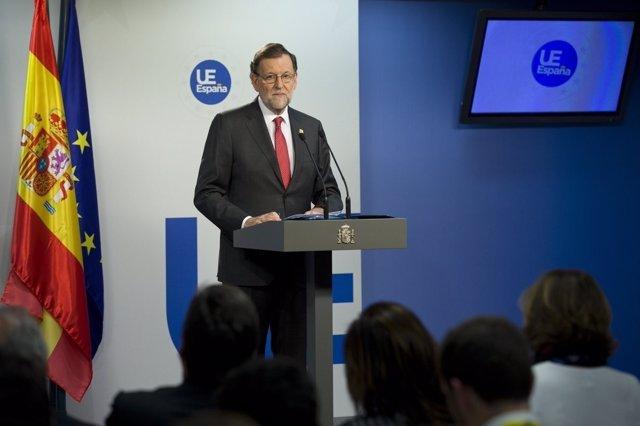 Mariano Rajoy en la cumbre europea