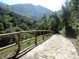 Senda verde, Asturias, caminos naturales
