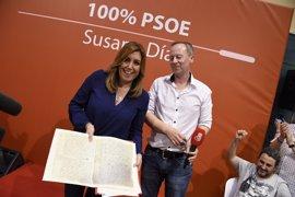 Más de 350 militantes del PSOE de la provincia de Ourense comparten una comida con Susana Díaz