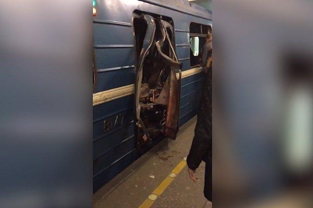 Explosión en metro de San Petersburgo deja nueve muertos