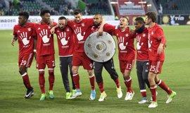 El Bayern se proclama campeón de la Bundesliga por quinta vez consecutiva