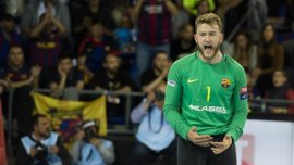 El Barça se mete en la 'Final Four' tras remontar al Kiel alemán