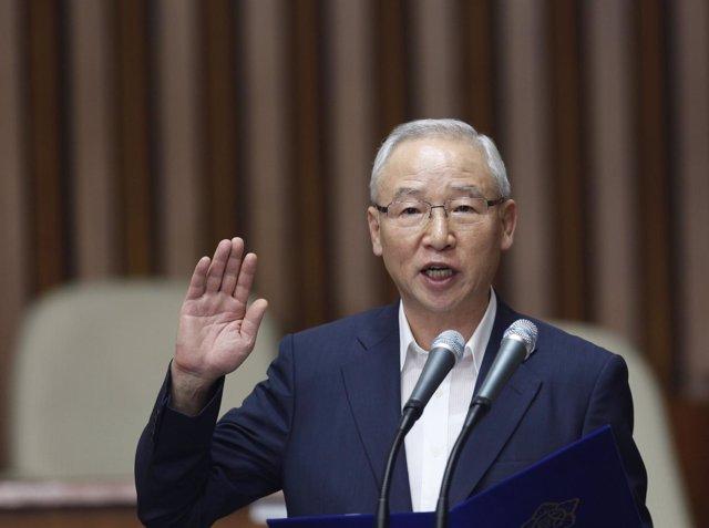 El exjefe del Servicio Nacional de Inteligencia de Corea del Sur, Nam Jae Joon.
