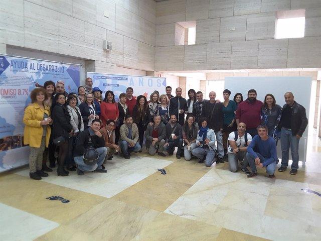 Exposición sobre 25 años de cooperación internacional de Diputación de Huelva