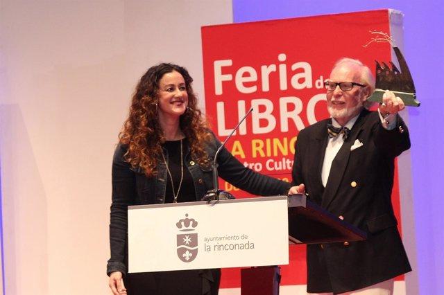Acto de clausura de la Feria del Libro de La Rinconada (Sevilla)