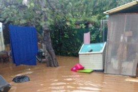 Cs pide al Gobierno medidas para paliar los efectos del temporal en las playas de Mijas y Fuengirola (Málaga)