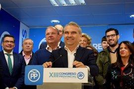 Fragoso es proclamado candidato único para liderar el PP provincial de Badajoz