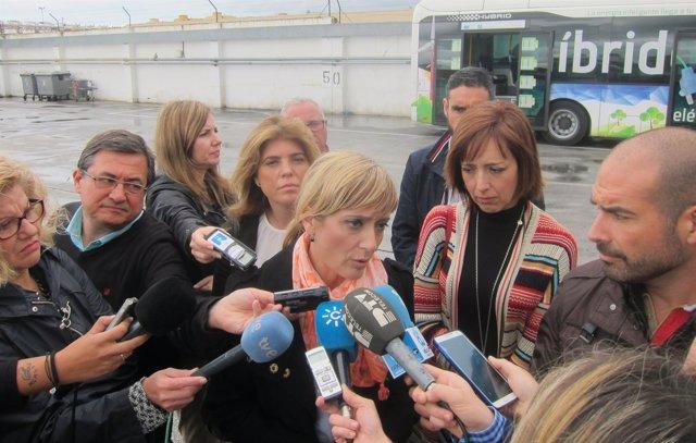 Secretaria general de UGT-Andalucía, Carmen Castilla