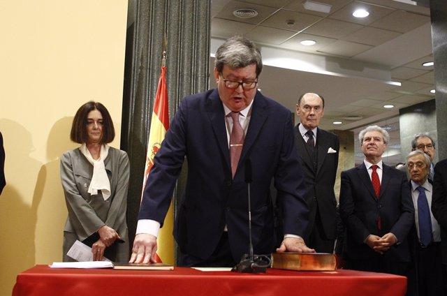 Toma de posesió del nuevo director del Instituto Cervantes, Juan Manuel Bonet