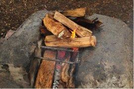 A partir del lunes se prohíbe totalmente hacer fuego en el bosque porque comienza la temporada de riesgo de incendio