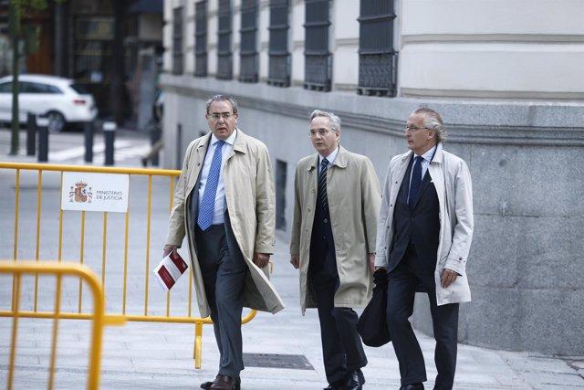 Pedro Gómez de la Serna acude a la Audiencia Nacional