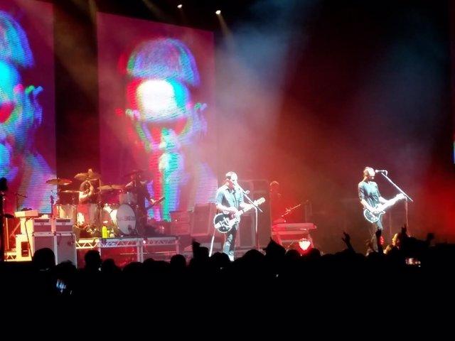 Placebo en Madrid en concierto