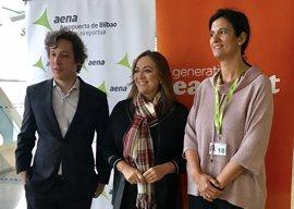 """Gobierno vasco valora la importancia de la conectividad aérea para """"seguir consolidando"""" a Euskadi en materia de turismo"""