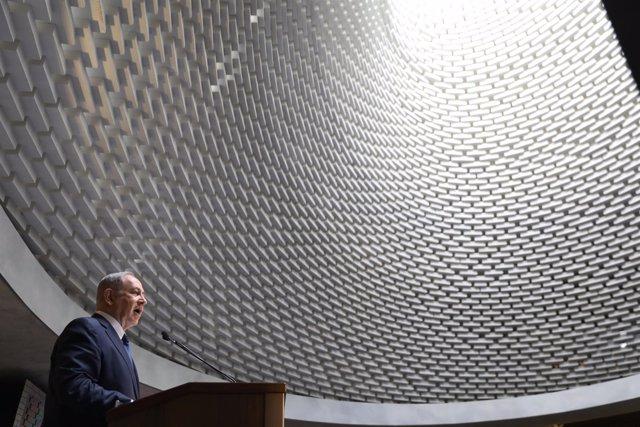 Benjamin Netanyahu monumento a los caídos