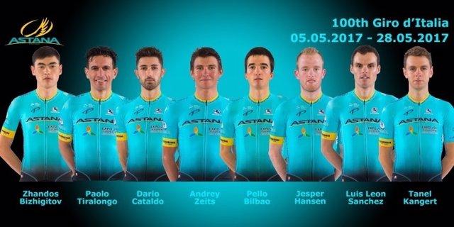 Astana Giro Italia 2017